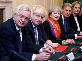 Top members of Theresa May's Cabinet