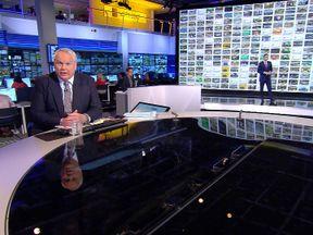 Adam Boulton hosts Sky's election results programme