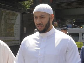 Imam who diffused angry crowd during Finsbury Park terror attack addresses media