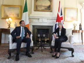 Theresa May and Irish Taoiseach Leo Varadkar held talks at Downing Street earlier this month