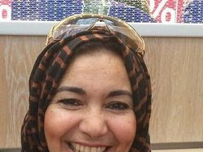 Khadija Khalloufi was separated from her husband as she tried to escape