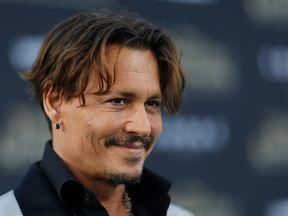 Johnny Depp in May 2017