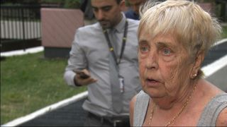 Shirley Phillips says there was no warning before evacuation