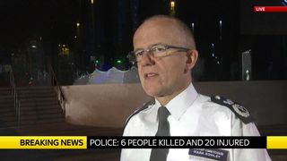 Assistant Commissioner Mark Rowley speaks about the London terror attack