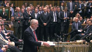 Jeremy Corbyn responds to the Queen's Speech and savages government