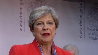 Theresa May retains her Maidenhead seat
