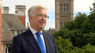 Defence Secretary Sir Michael Fallon says it is a great day for Britain