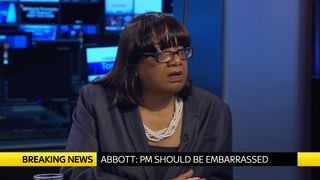 Diane Abbott, Labour's shadow home secretary