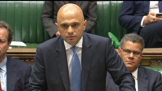 Communities Secretary Sajid Javid confirmed cladding on 75 buildings have failed safety tests