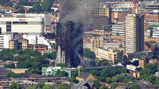 Tower block fire at Latimer Road
