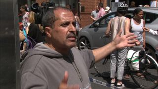 Resident Ahmed Chellat is unhappy with the amount of information reaching him and others after a fire at the Grenfell Tower