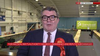 Labour deputy leader Tom Watson