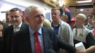 Jeremy Corbyn says 'I am a Corbyn' in German