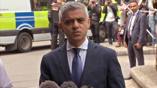 Sadiq Khan comments on amount of money available to fund security in London