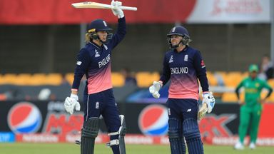 England win with WC best