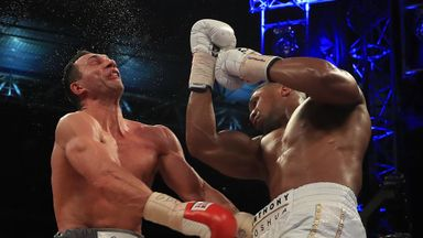 AJ v Klitschko rematch getting closer