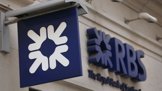 File photo dated 03/04/14 of a Royal Bank of Scotland sign, as the bank reported a £7bn annual loss, its ninth consecutive year in the red