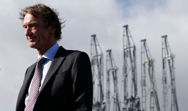 May met Ineos chair for off-roader talks as tax row loomed