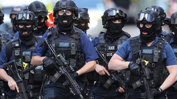 Counter-terrorism police