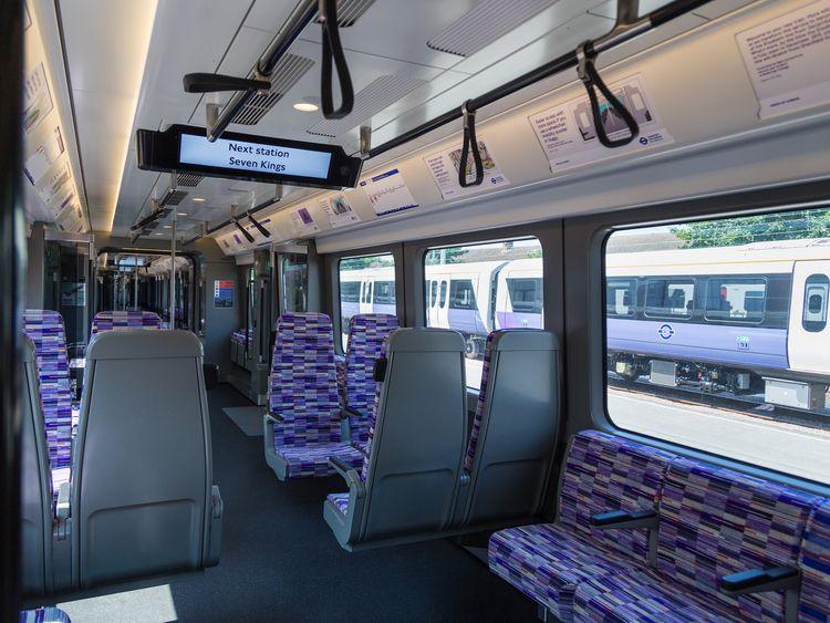 First Elizabeth line train is introduced.