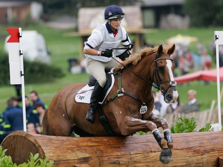 Zara Phillips on Toytown in 2007