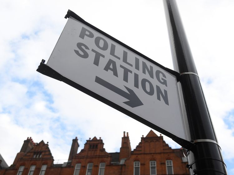 Polling stations will be open between 7am and 10pm