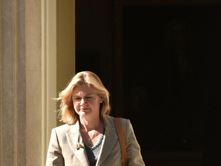 Justine Greening gets her brief back as Education Secretary