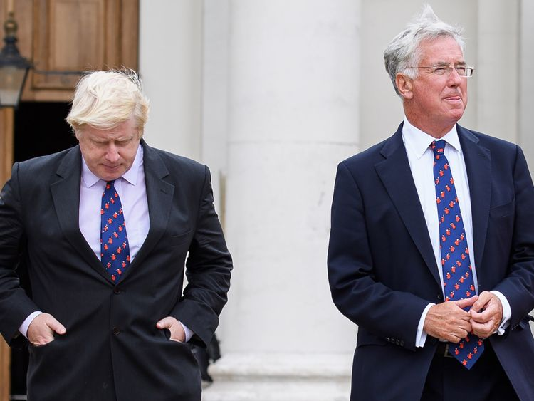 Boris Johnson and Sir Michael Fallon have both made pledges on income tax