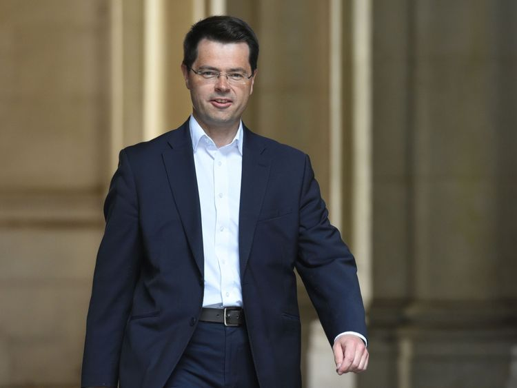 James Brokenshire in Downing Street