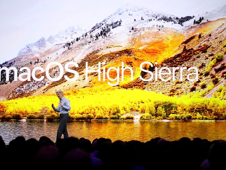 The new operating system for Apple's desktops and laptops will be called High Sierra