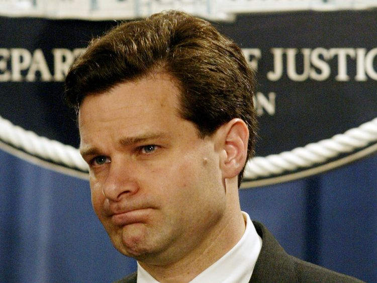 Christopher Wray was a former Justice Department official under President George W Bush