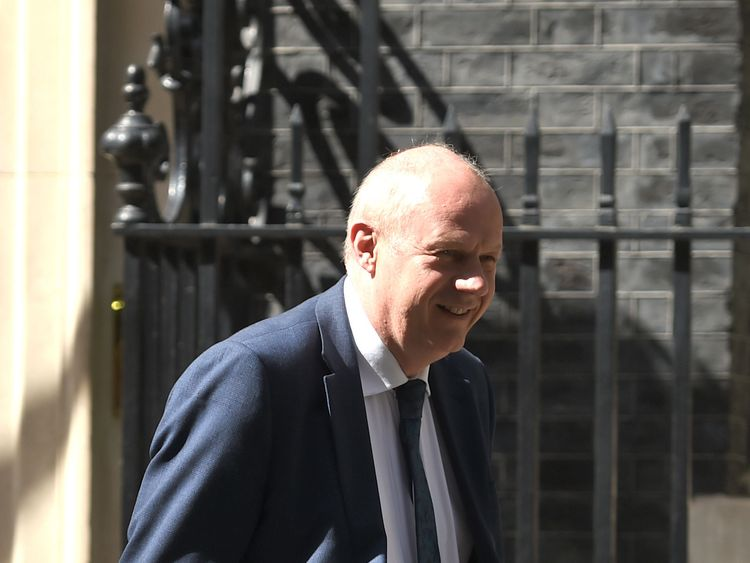 Damian Green, who has been appointed First Secretary of State and Minister for the Cabinet Office