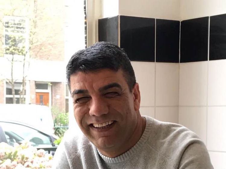 Mohamed 'Saber' Neda, 57, last spoke to his family at 3am from the kitchen of his top floor flat