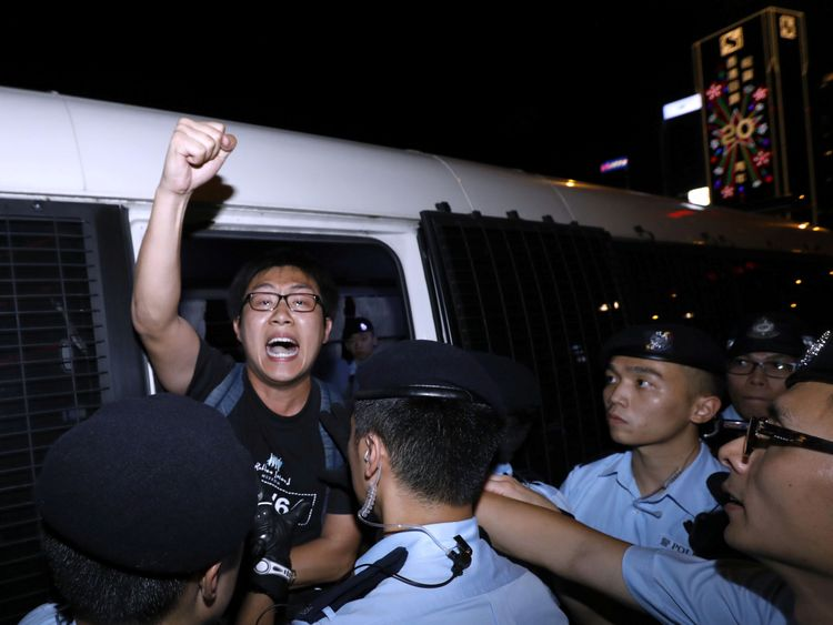 Several activists were arrested ahead of Xi's visit