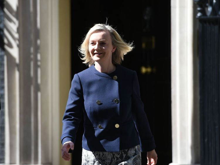 Liz Truss is appointed Chief Secretary to the Treasury