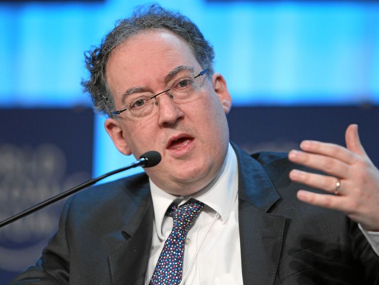 Gideon Rachman speaking at the World Economic Forum