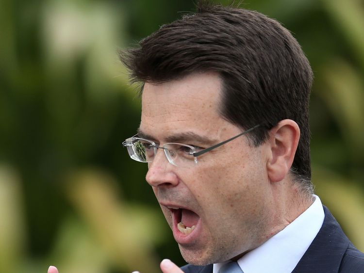 James Brokenshire has said that 'time is marching on' for a Stormont deal