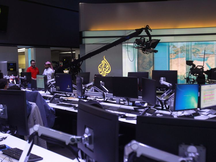 Al Jazeera is based in Qatar's capital Doha