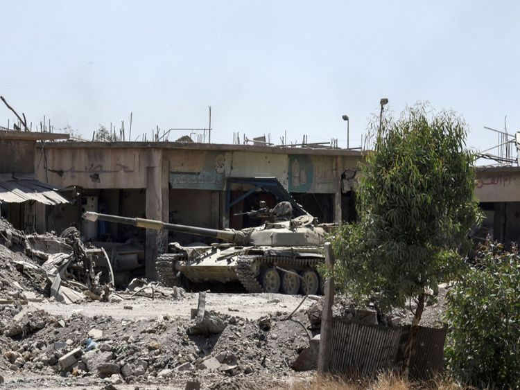 US-backed Iraqi troops have been battling to capture the city for nine months
