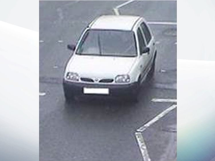 The white R reg Nissan Micra was bought by Abedi in April