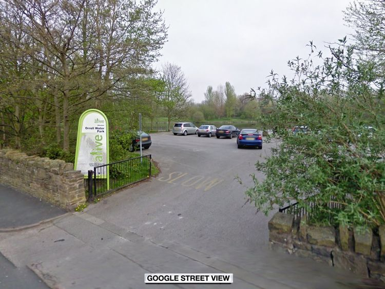 The entrance to Orrell Water Park, where an 18-year-old woman has been found murdered. Credit: Google Maps