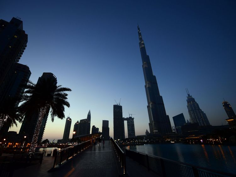 Dubai's Burj Khalifa is the world's tallest building