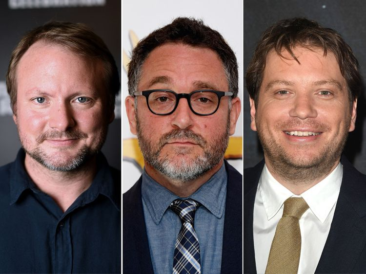 Rian Johnson, Colin Trevorrow and Gareth Edwards