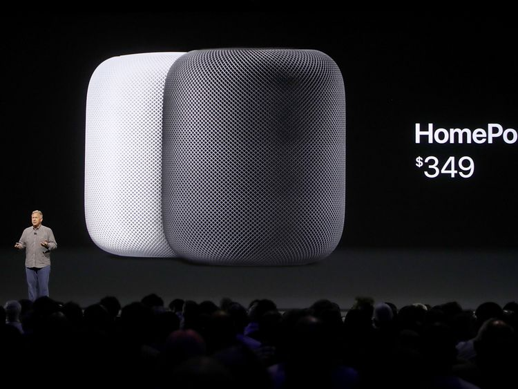 Apple's Phil Schiller introduces the HomePod