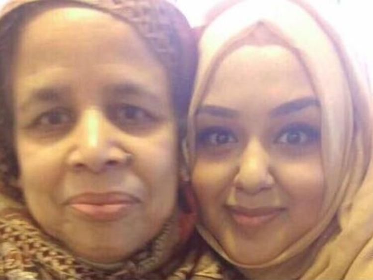 Rabeya and her daughter Husna Begum have not been seen since the fire