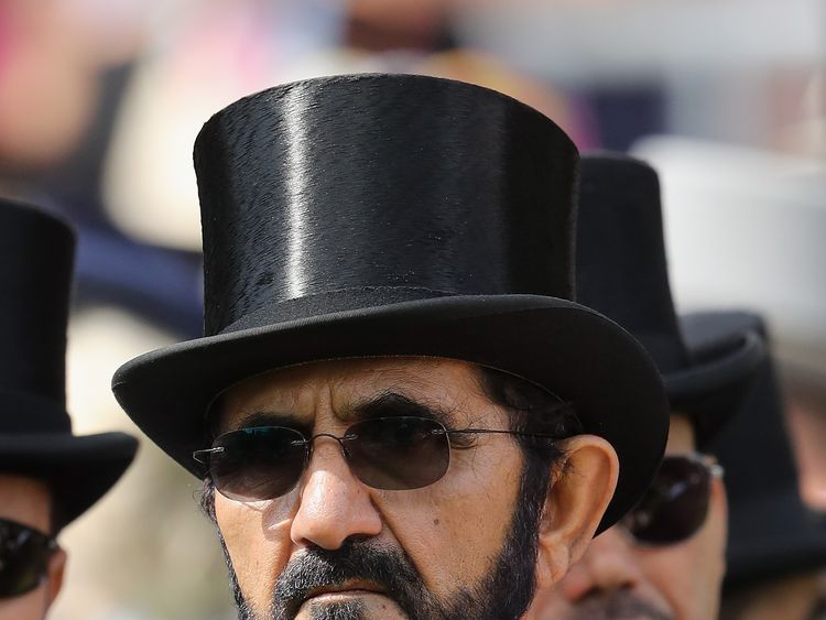 Sheikh Mohammed Bin Rashid Al Maktoum stepped in to help
