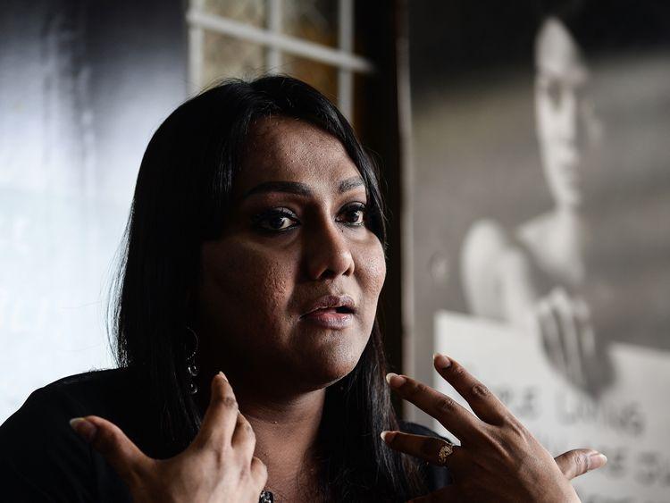 Malaysian transgender activist Nisha Ayub