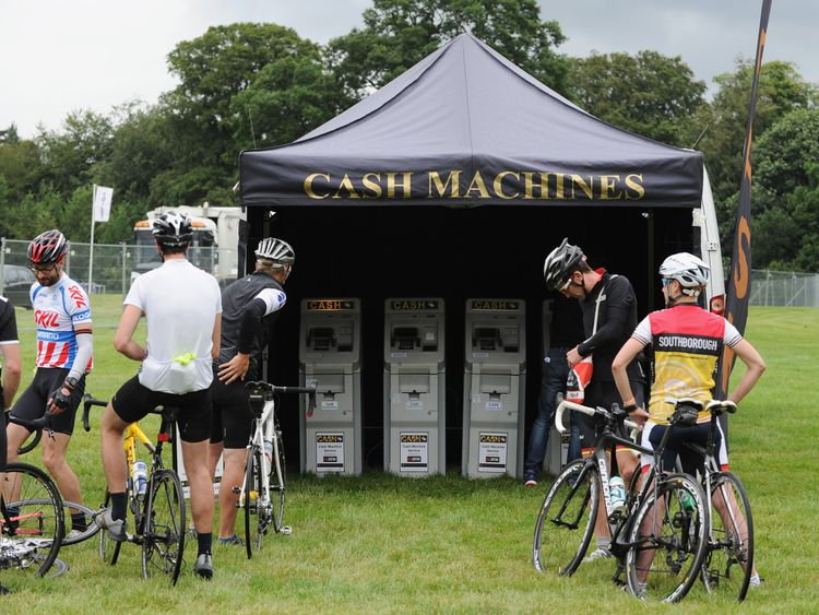 If you've got to go, you've got to go. These riders needed an emergency withdrawal at the Tour de France in Yorkshire in 2014