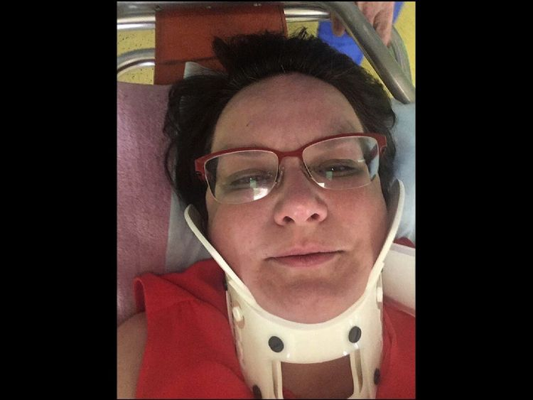 Ms Galiamina spoke to Sky News from hospital