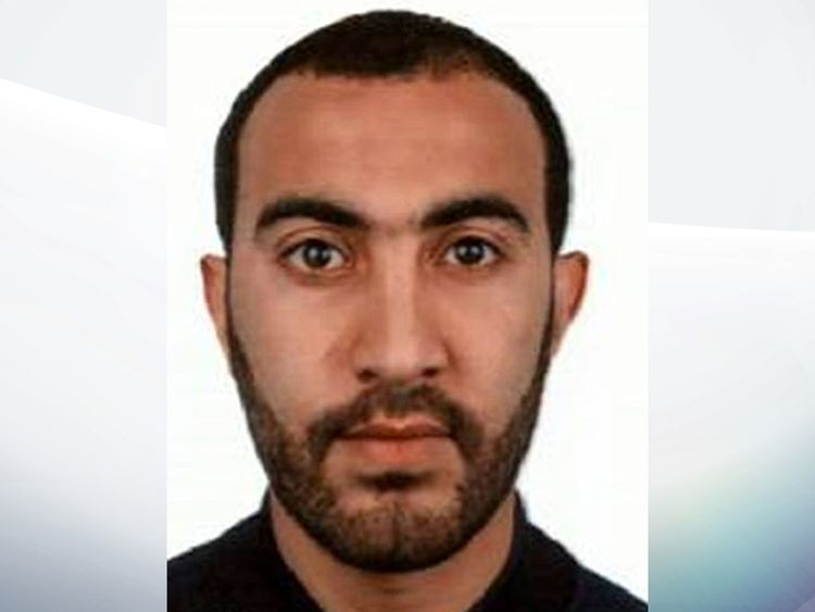 Rachid Redouane who has been named as one of two of the men shot dead by police following the terrorist attack on London Bridge and Borough Market.